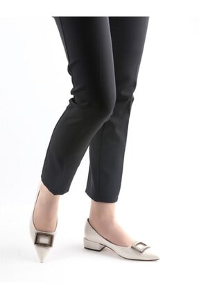 Buffalo Natalia Krem Topuklu Ayakkabı