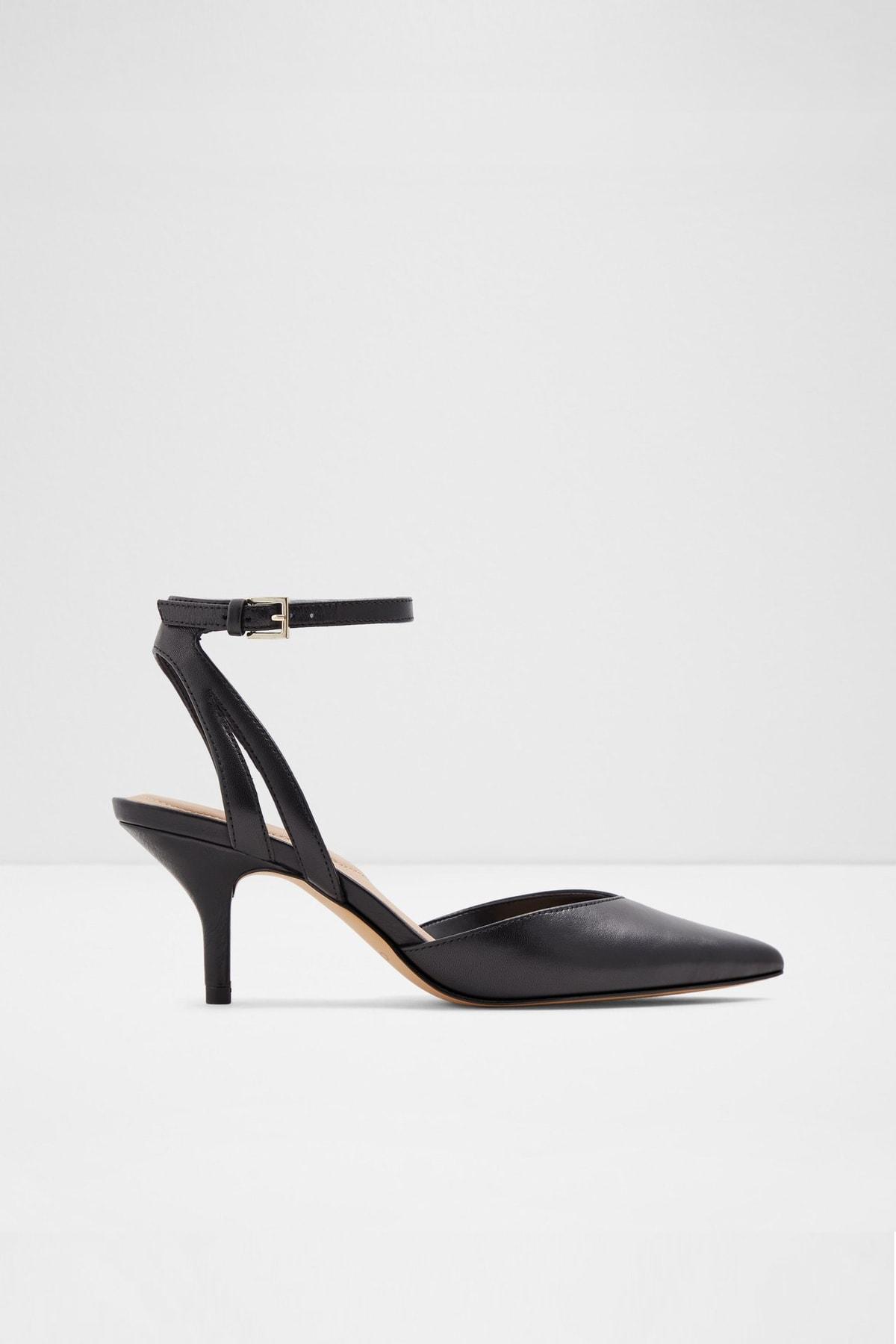 Aldo Krasnoya - Siyah Kadın Topuklu Ayakkabı 1