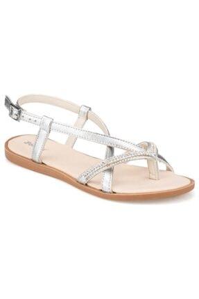Polaris Bayan Parmak Arası Gümüş Sandalet