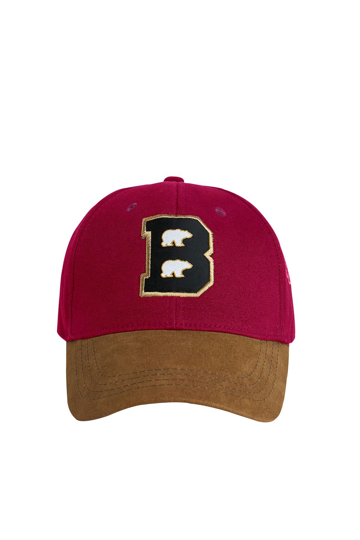 Bad Bear Braın Cap Bordo Spor Şapka 1