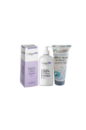 Collagen Forte Yüz Ve Vücut Jeli 250 ml  Vulalife Alovera Özlü Nemlendirici 125 ml