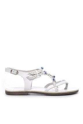 KEMAL TANCA Kadın Derı Sandalet Sandalet 607 1989 Byn Sndlt Y19