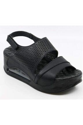Muya 29277 Aır Max Ve Masaj Tabanlı Ortopedik Sandalet 430 Siyah