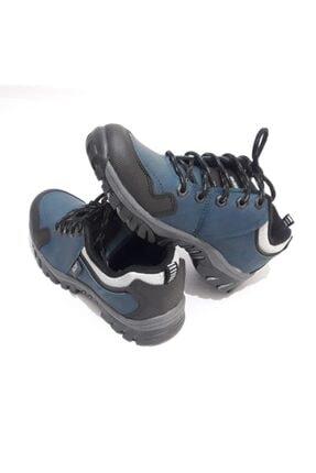 GEZER Unisex Petrol Mavisi Kışlık Kaydırmaz Ayakkabı Bot