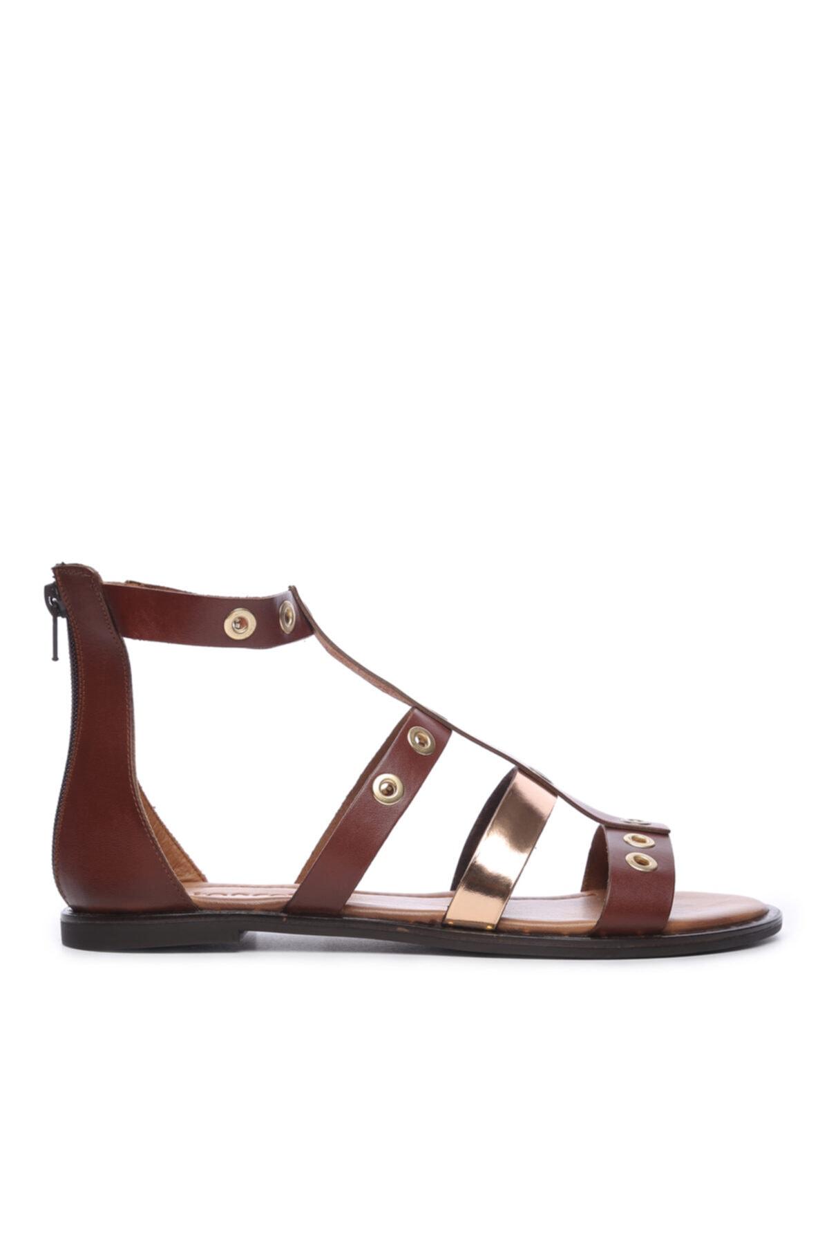 KEMAL TANCA Kadın Derı Sandalet Sandalet 169 7280 Bn Sndlt 1