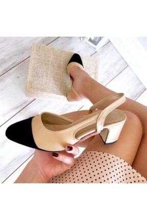 LuviShoes S3 Ten Cilt Siyah Süet Kadın Topuklu Ayakkabı