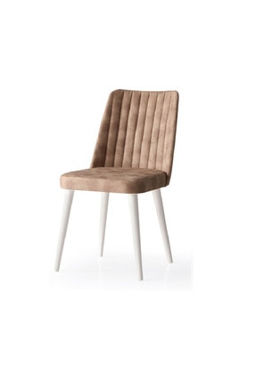 Weltew Home Bambu Sandalye Ekru-kahve (4 Adet)