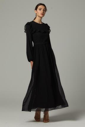 Loreen Elbise-siyah 22252-01