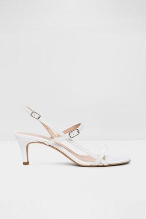 Aldo Rowy-tr - Beyaz Kadın Topuklu Sandalet