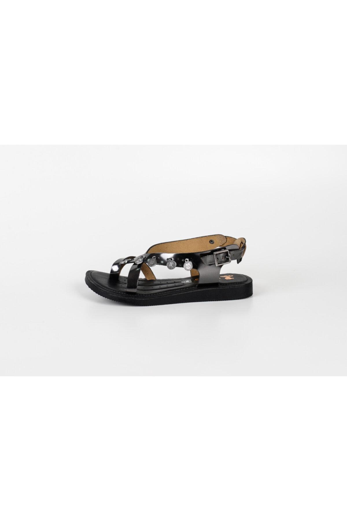 Venüs 20980209 Bayan Deri Sandalet Ortopedik 2