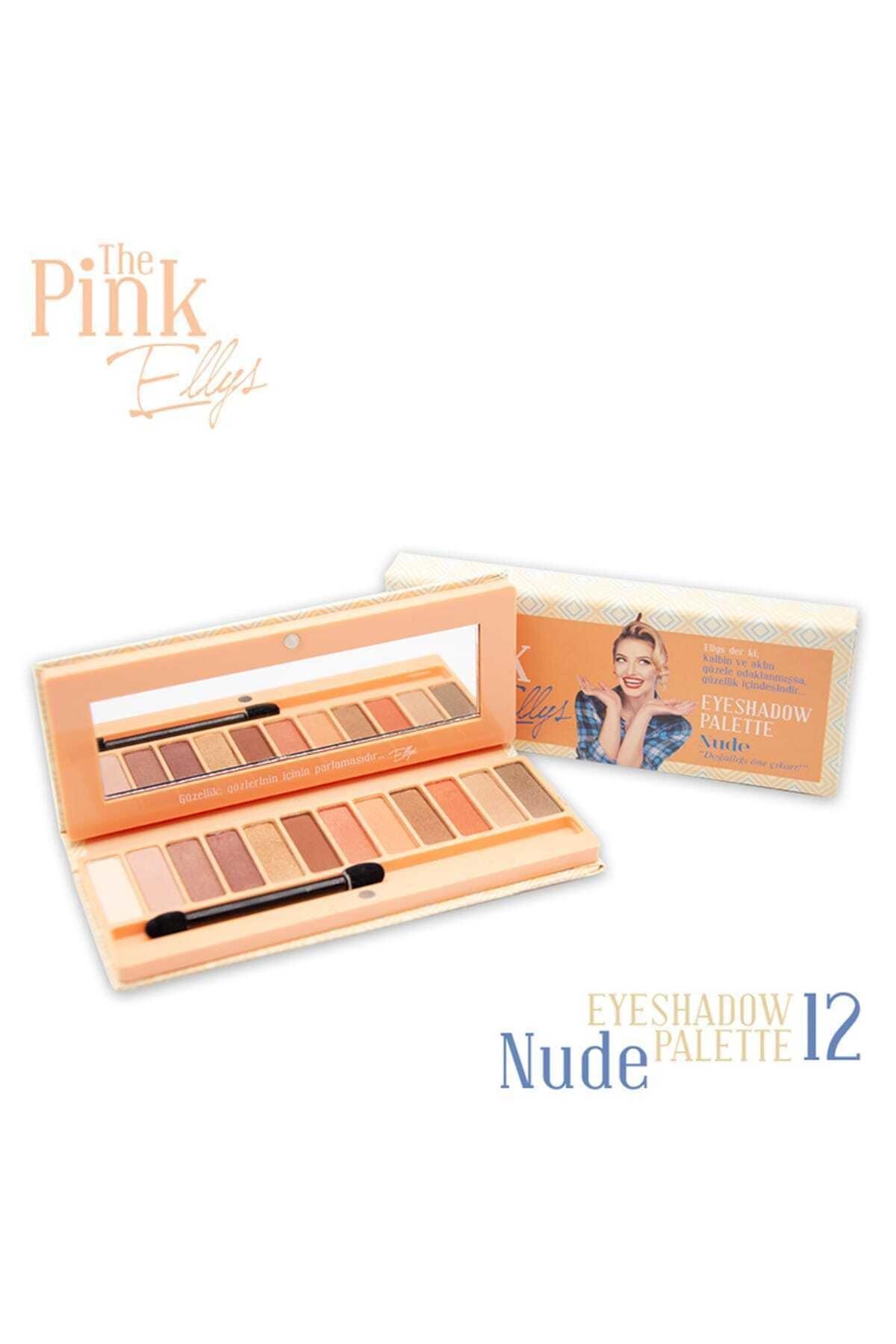 The Pink Ellys Eyeshadow Palette Nude 12li 1