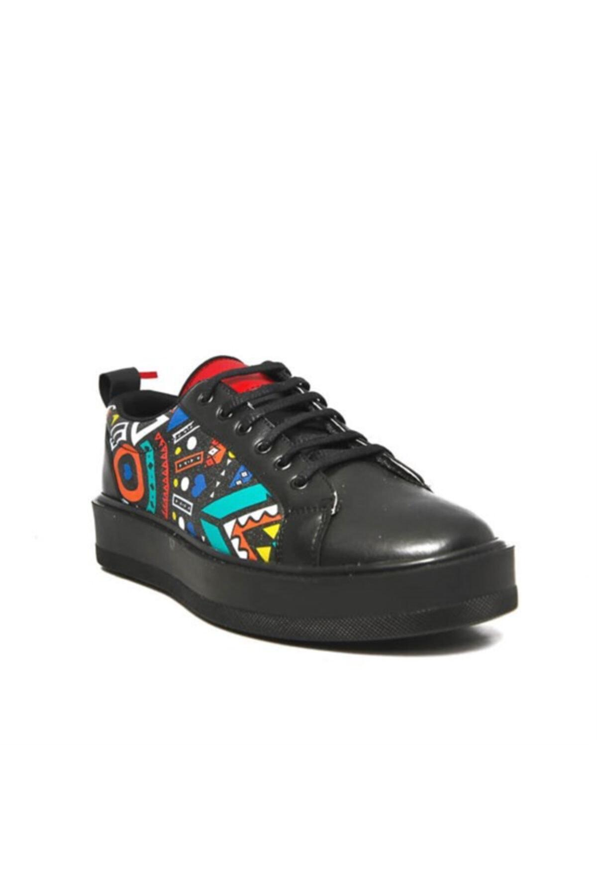 Atlanta Renkli Desen Casual Erkek Ayakkabı 1