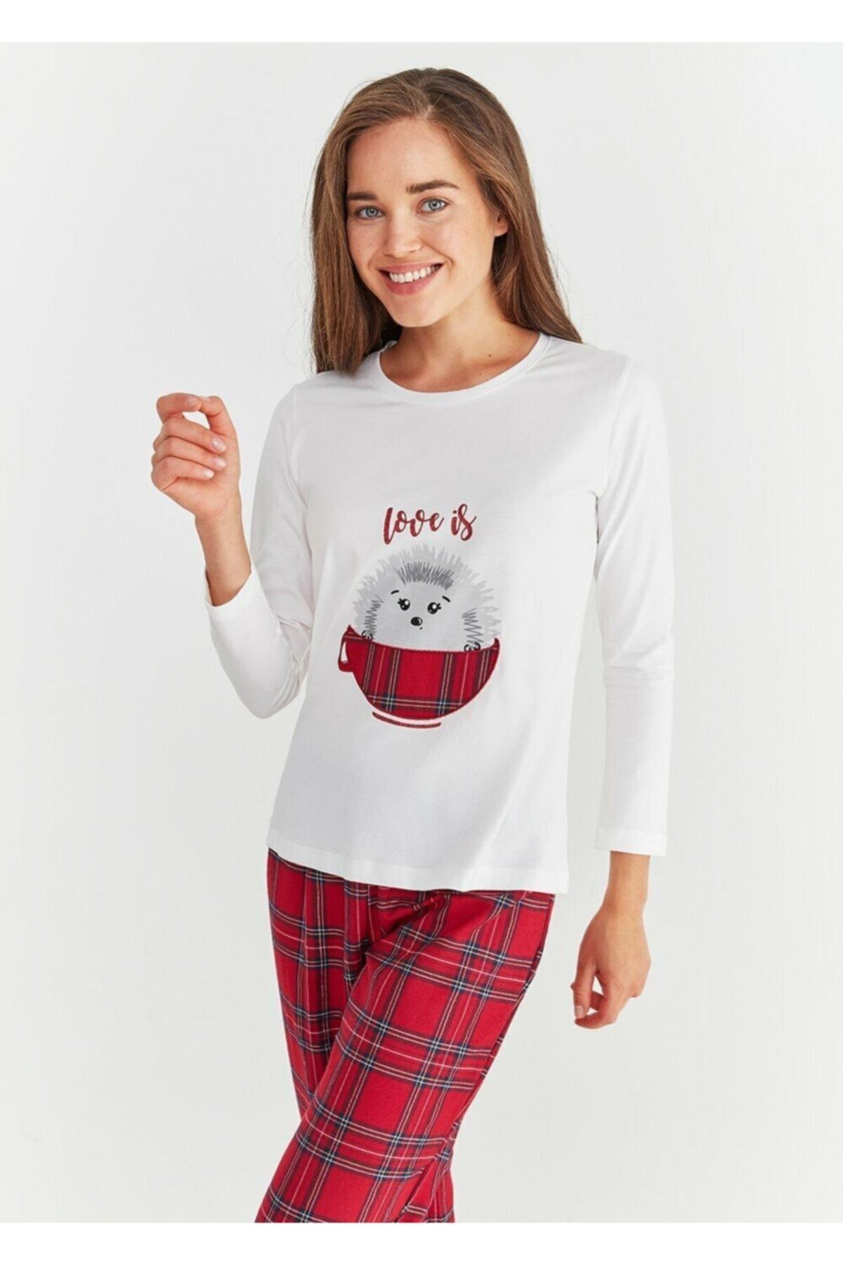 SUWEN Adelina Pijama Takımı 2