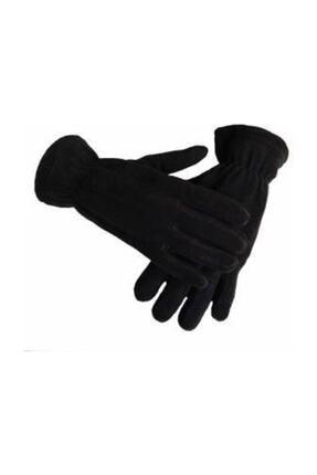 Silyon Askeri Giyim Termal Kışlık Polar Eldiven Siyah