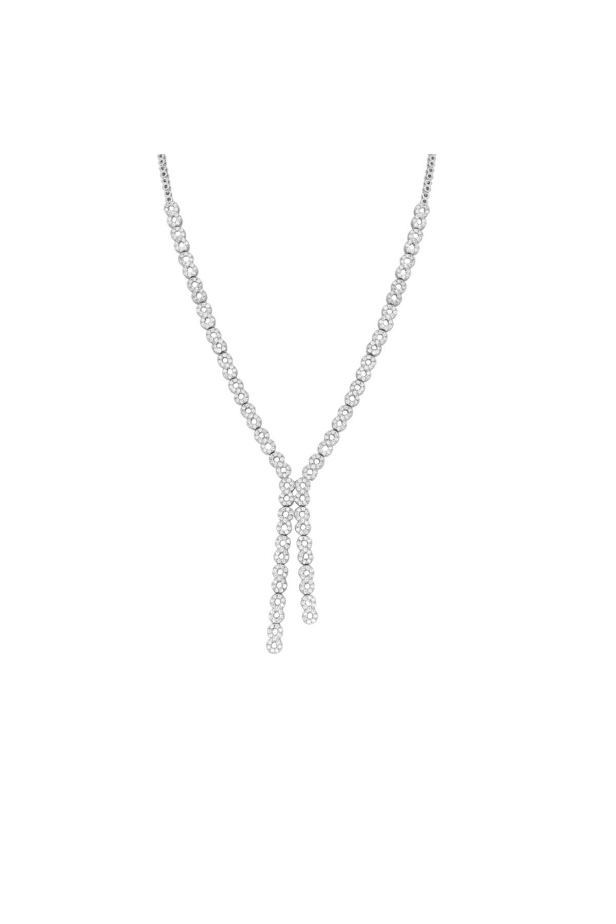 Chavin Su Yolu Gümüş Kolye Küpe Bileklik Yüzük Set Ef98 2