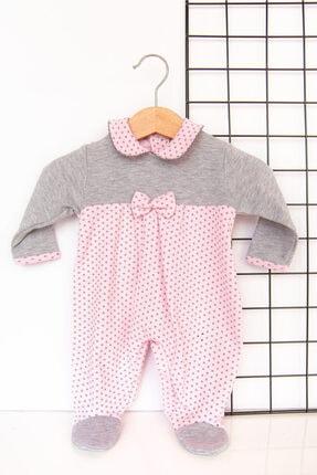 Babymod Kız Bebek Puantiyeli Tulum