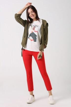 Gusto Sihirli Pantolon - Kırmızı