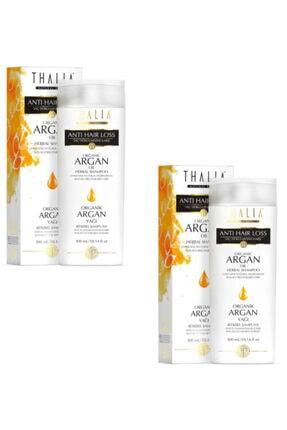 Thalia Organik Argan Yağlı Saç Dökülmesine Karşı Şampuan 300 ml X 2 Adet