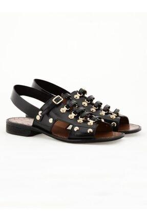 Nursace Hakiki Deri Sandalet Nsc18y-a08275