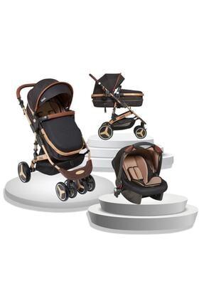 Joell Siyah Truva Travel Sistem Bebek Arabası