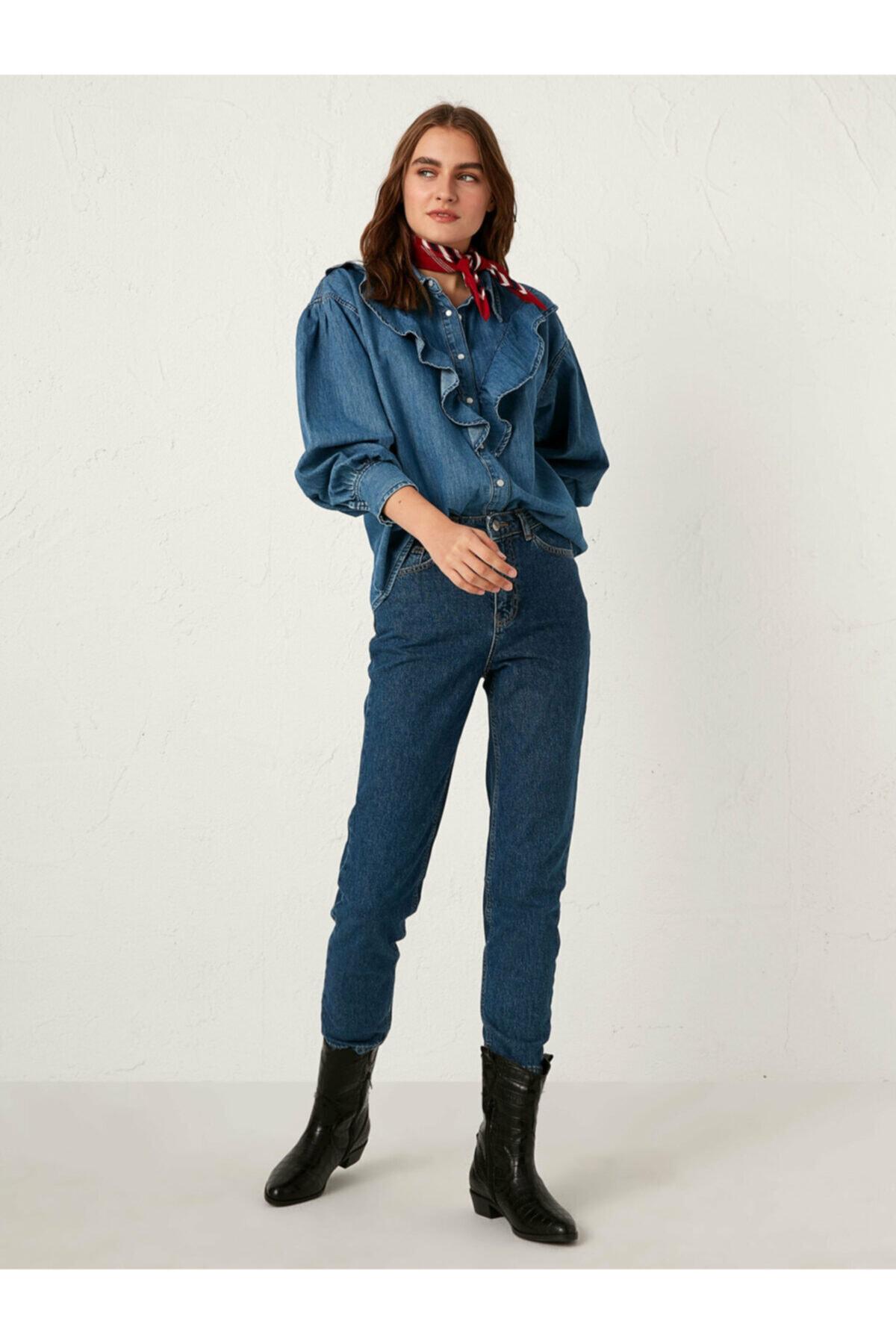 LC Waikiki Kadın Orta Rodeo  Jean 1