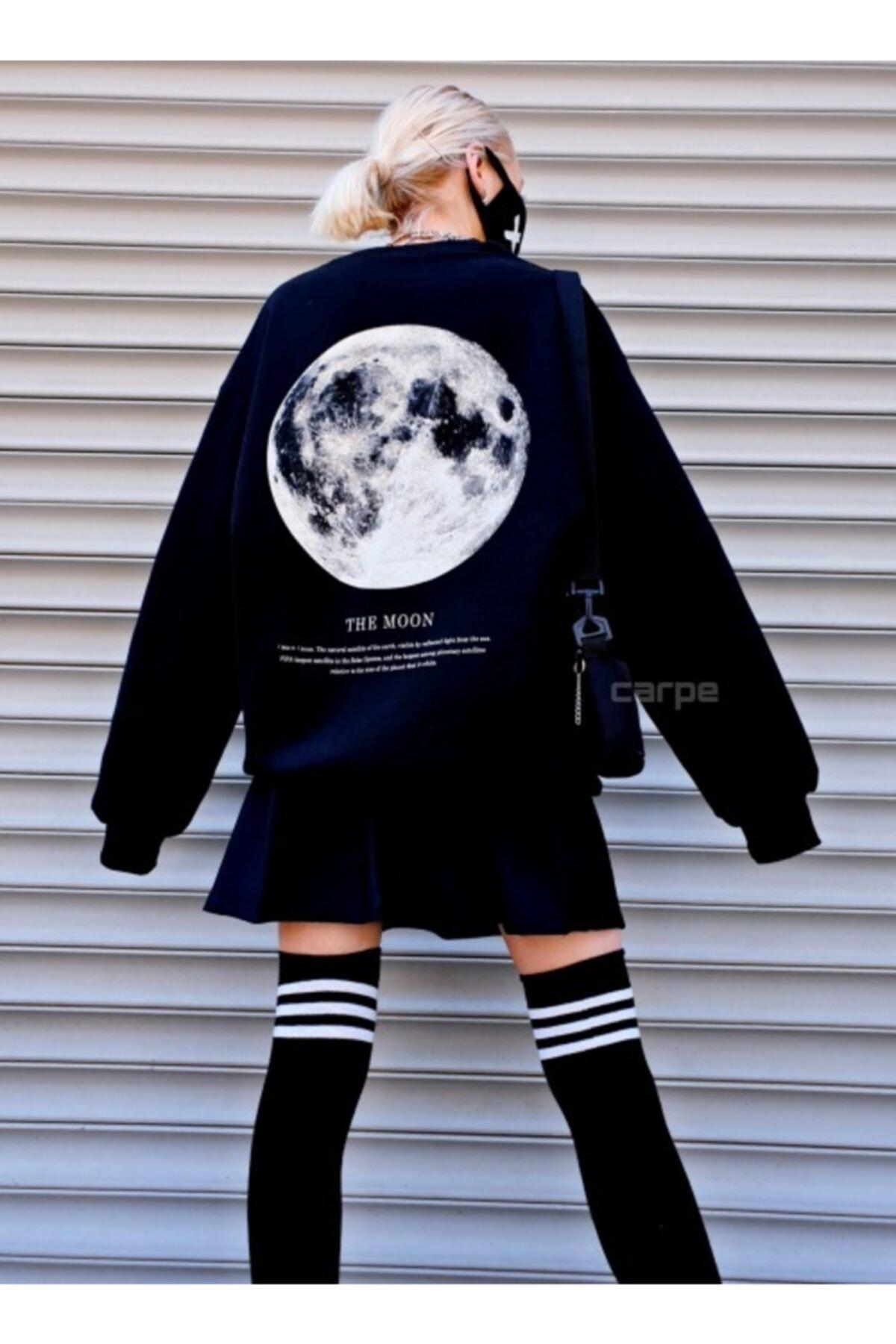Carpe The Moon Oversize Sweatshirt 1