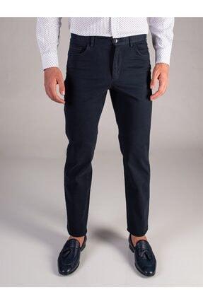 Dufy K.lacivert Düz Erkek Pantolon - Regular Fıt