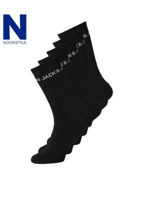 Jack & Jones 5'li Çorap 12179475 Jacbasıc