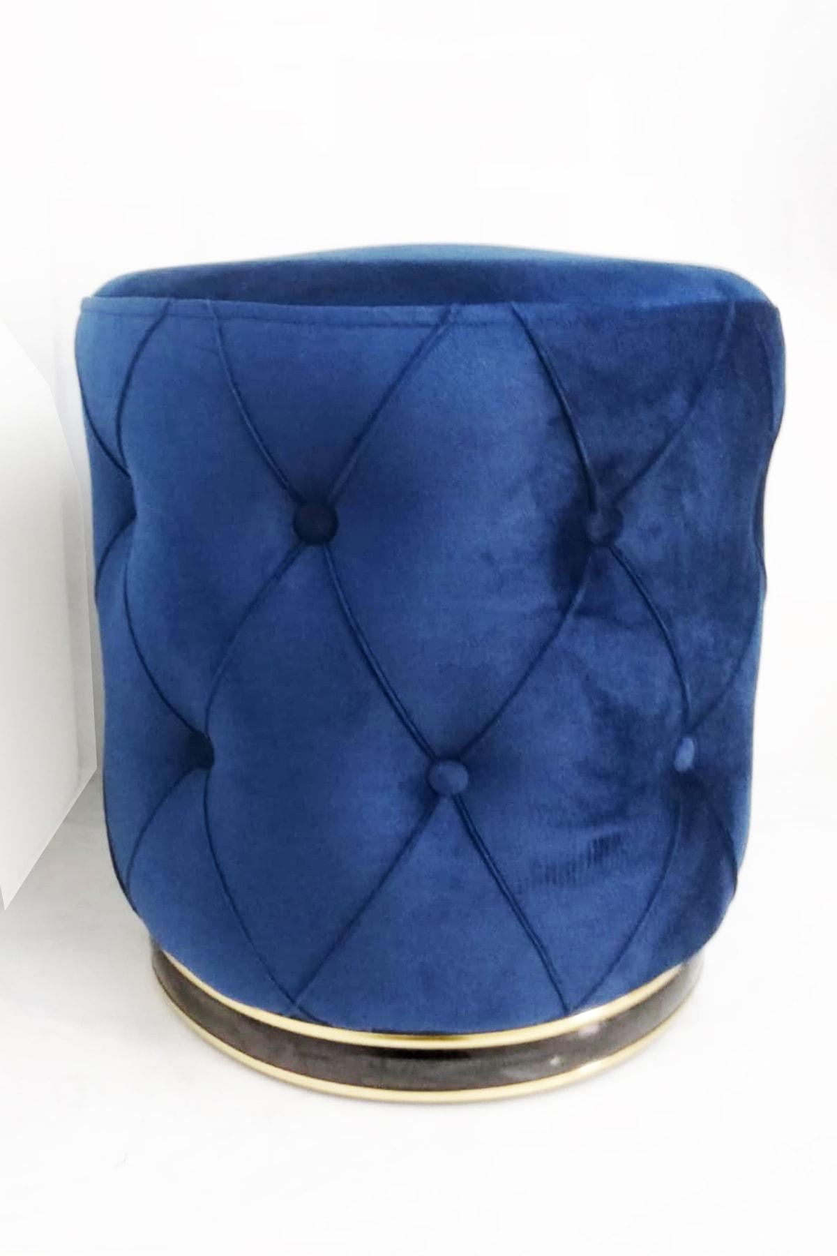 Zem Lunge Chester Blue - Gold Puf 2