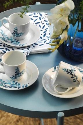 Kütahya Porselen Yasemin 10889 Desen Kahve Fincan Takımı