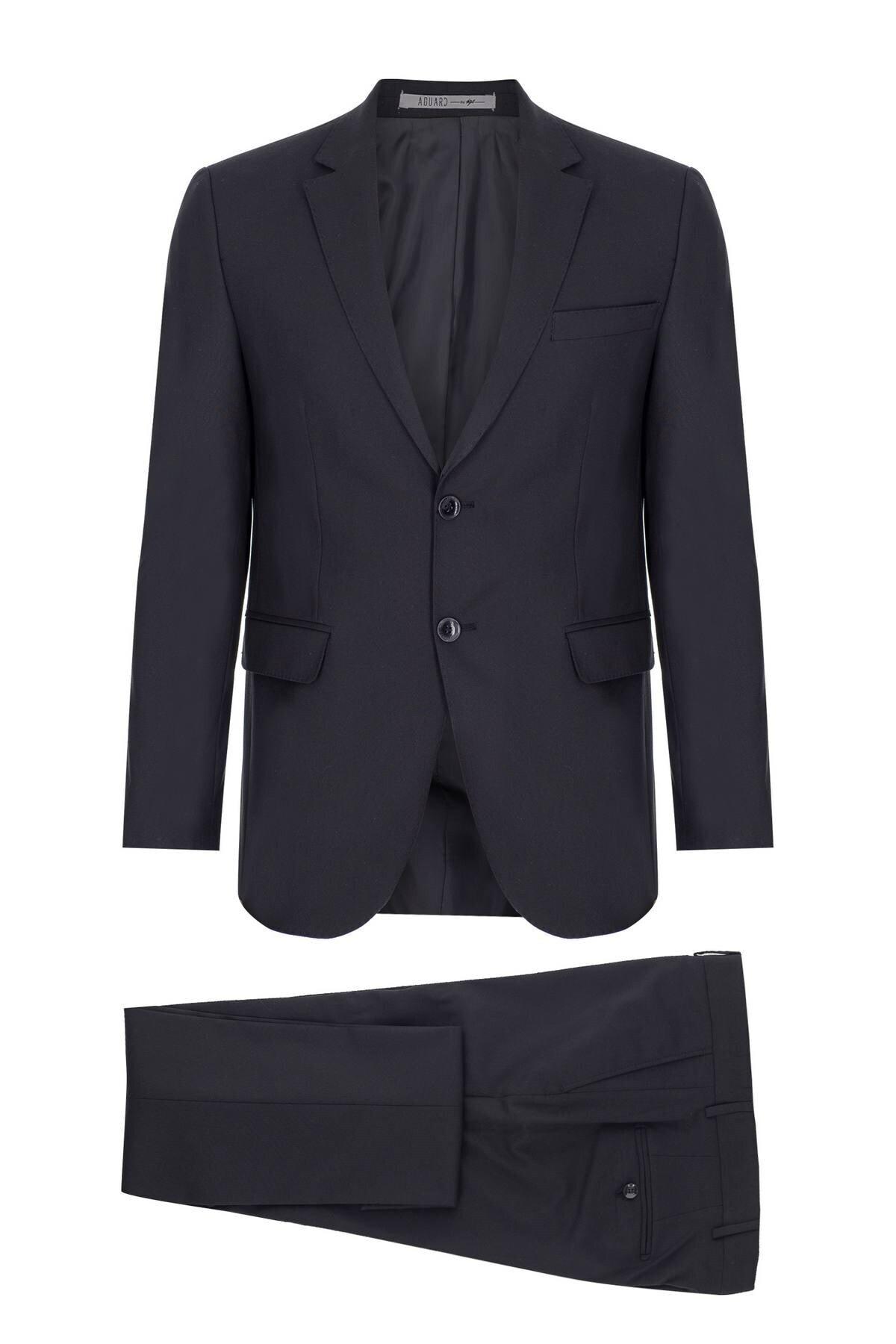 İgs Erkek K.lacivert Slım Fıt / Dar Kalıp Std Takım Elbise 1