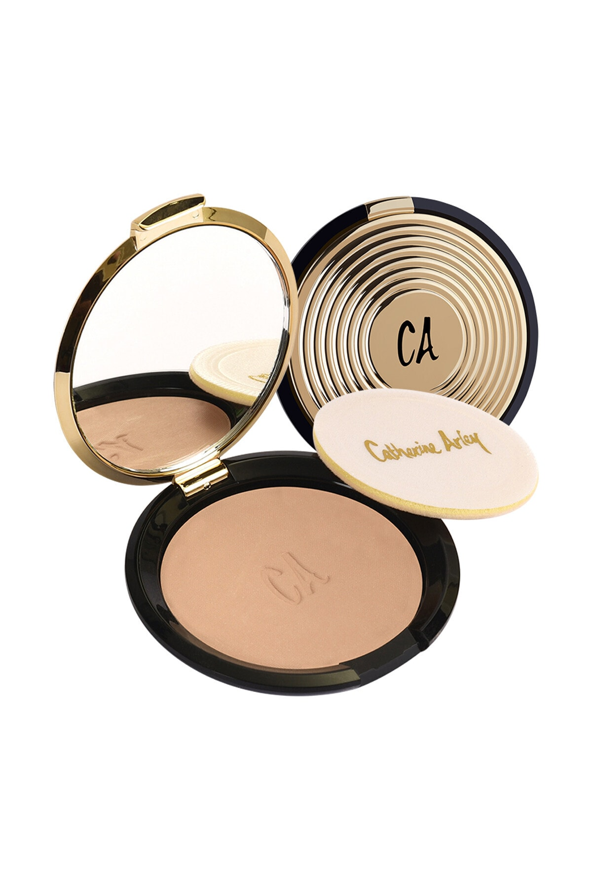 Catherine Arley Gold Pudra - Gold Compact Powder 103 8691167474845 1