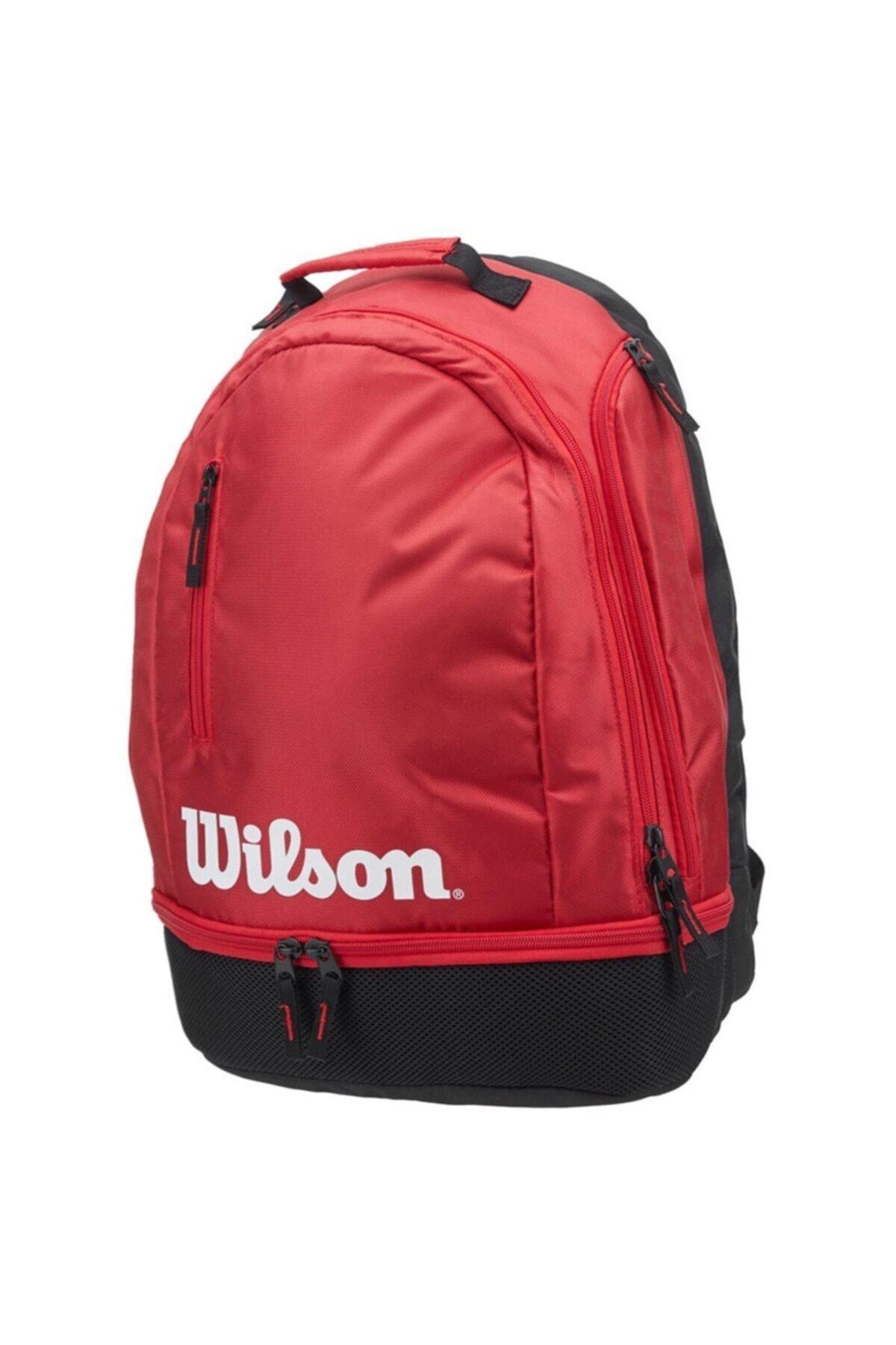 Wilson Tenis Raket Sırt Çantası Team Kırmızı 1