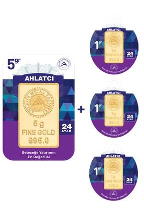 Ahlatcı 24 Ayar - 8 gram Külçe Altın