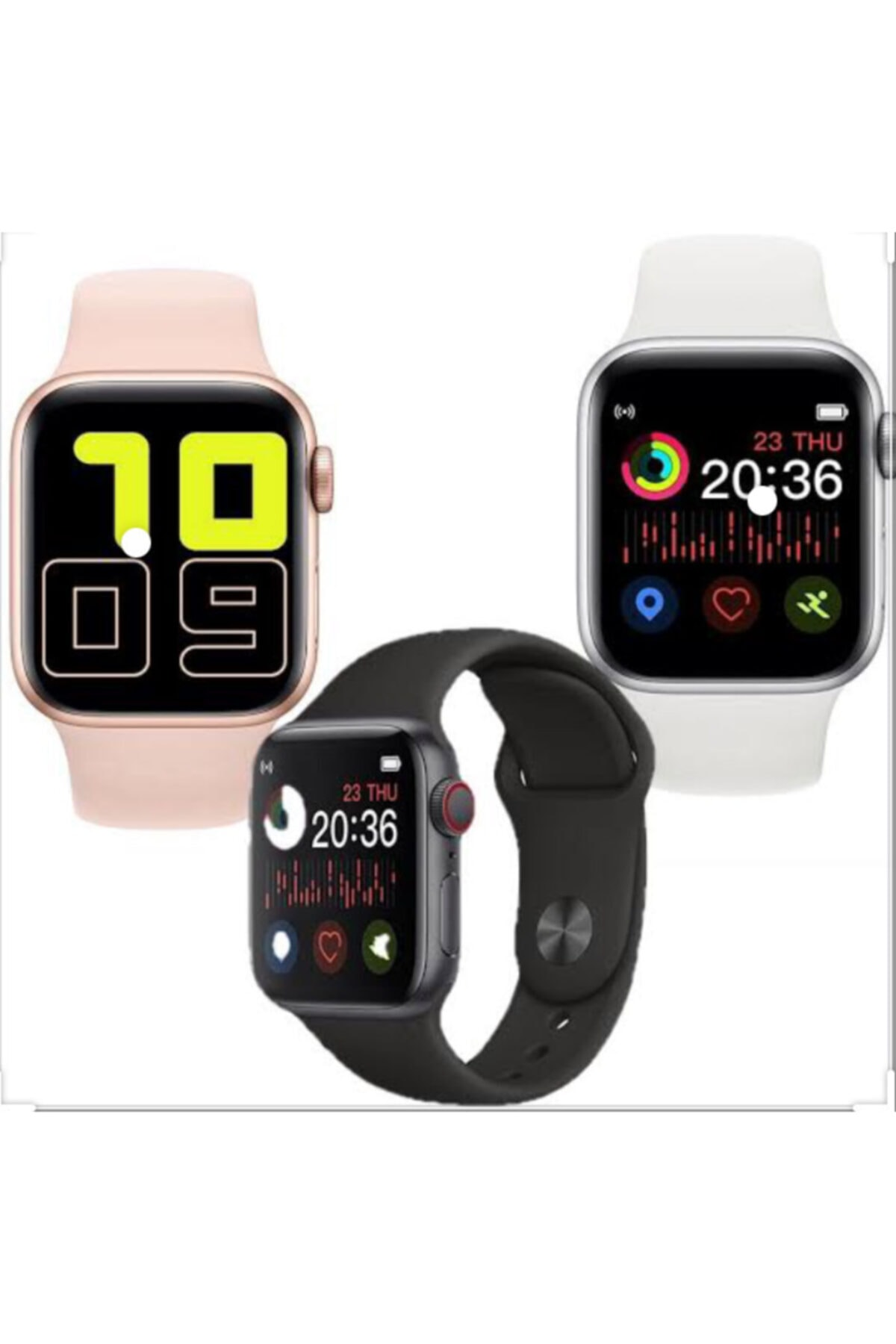 Fulltech Apple Watch5 T500 Serıes Fsw-3 1