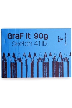 Clairefontaine Graf It A5 Sketch Pad