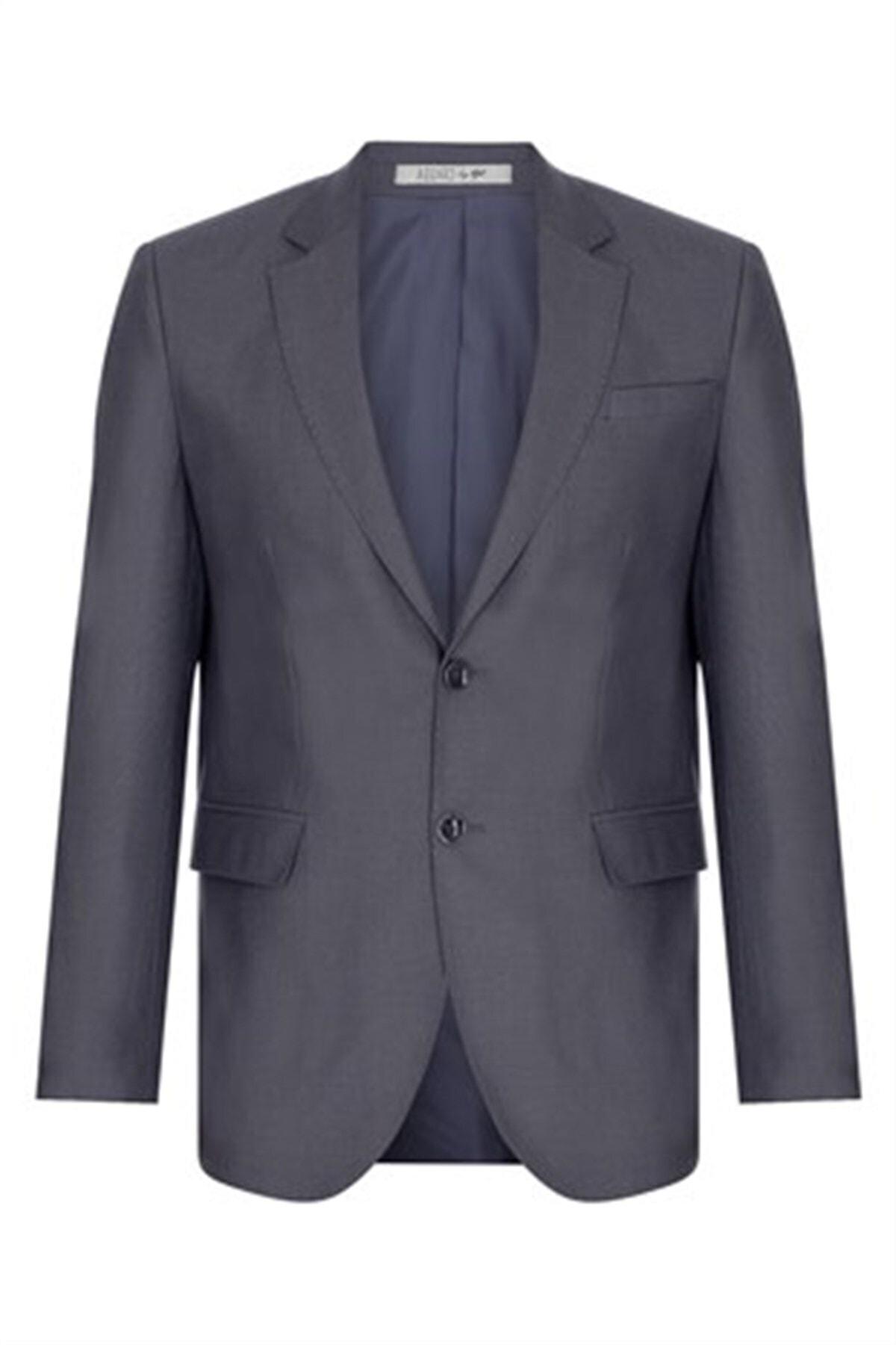 İgs Erkek Duman Regularfıt / Rahat Kalıp Std Takım Elbise 2