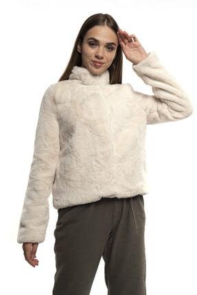 Vero Moda Dik Yaka Çıtçıtlı Kürk Mont 10230905 Vmthea