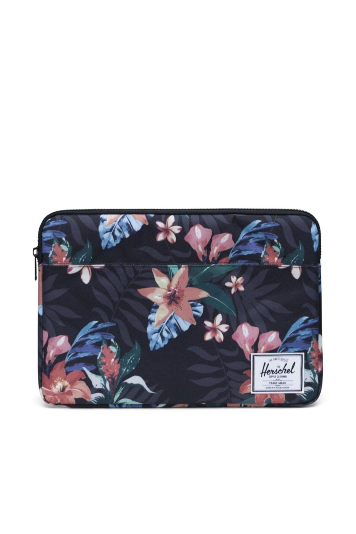 Herschel Supply Co. Herschel Supply Laptop Kılıfı Anchor Sleeve For 15 Inch Macbook Summer Floral Black 1