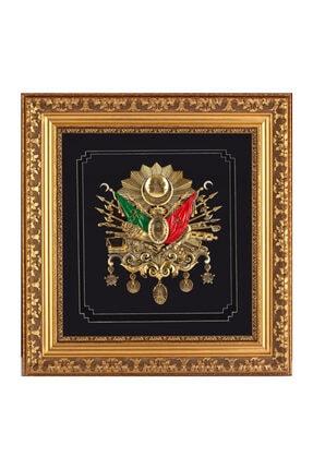 TREND Ottoman Armalı Tablo Gold - Tablolar Ds0257