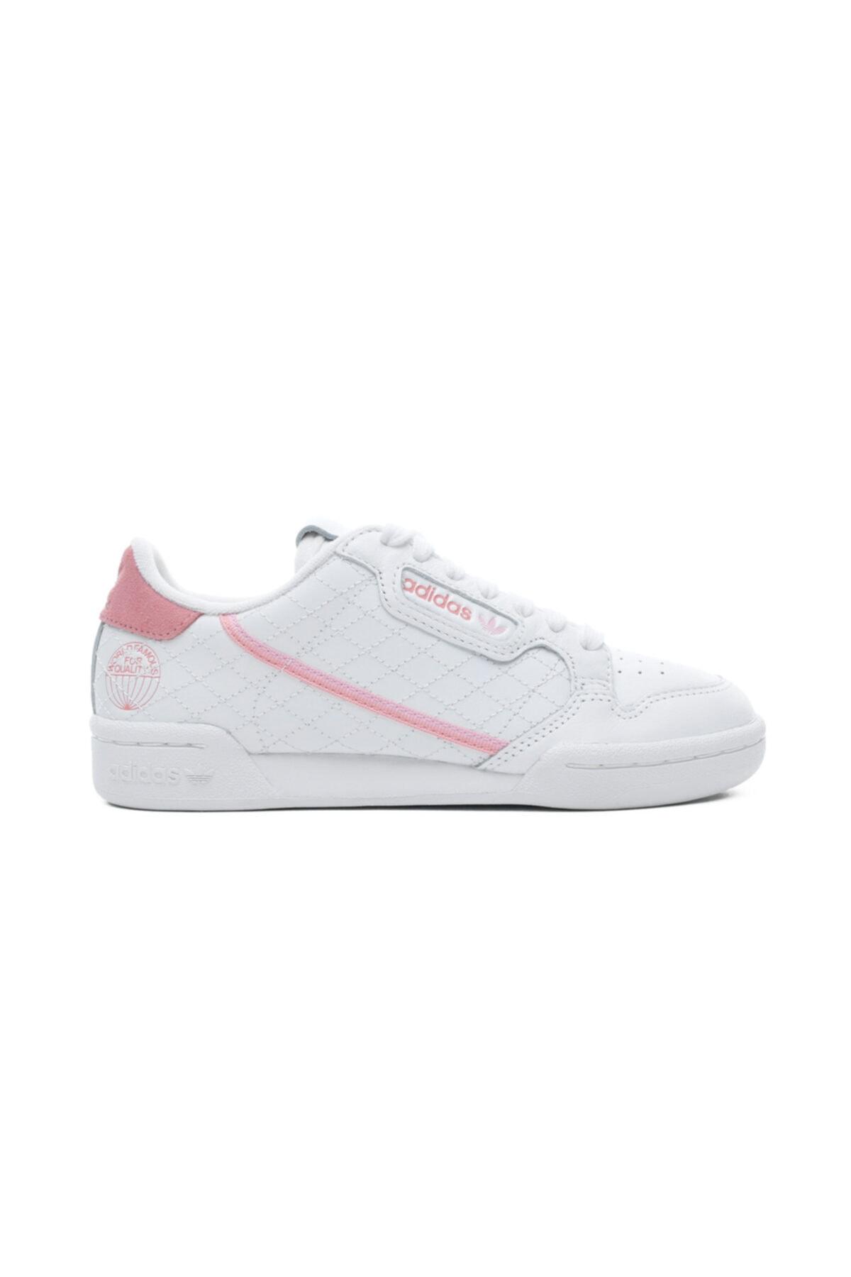 adidas Continental 80 Kadın Beyaz Spor Ayakkabı 1