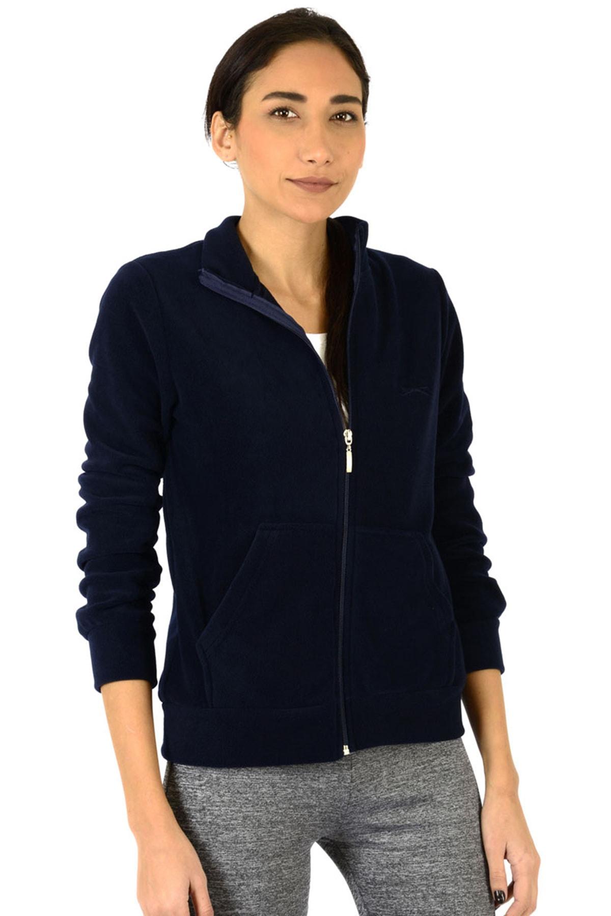 Slazenger Soul I Kadın Sweatshirt Lacivert 2