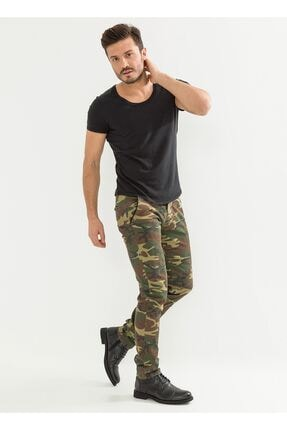 LTC Jeans Kamuflaj Erkek Pantolon