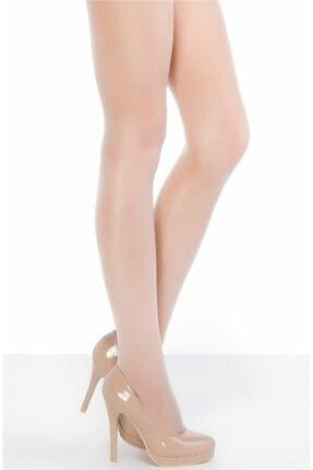 Penti Kadın Ekru Vanilya Fit 15 Denye Parlak Külotlu Çorap 3'lü Paket