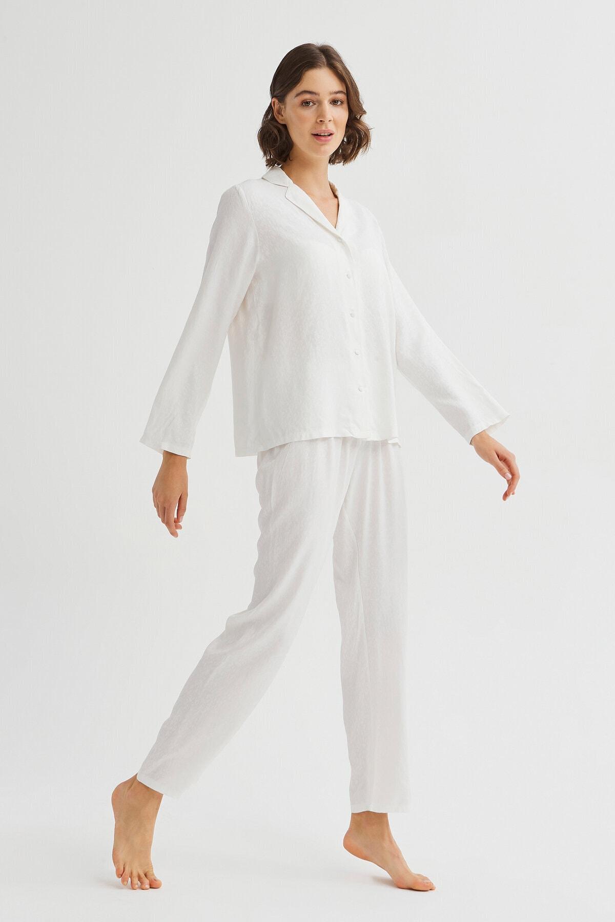 Penti Kar Beyaz Bridal Blanche Pijama Takımı 2