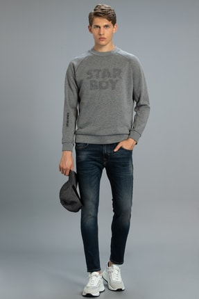 Lufian Gump Smart Jean Pantolon Slim Fit Indigo