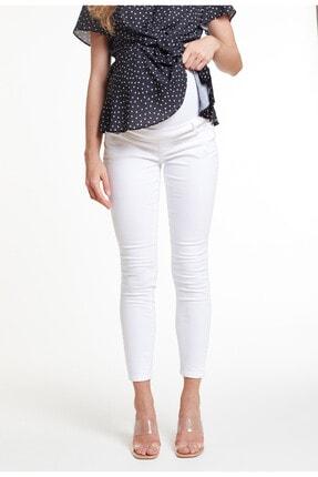 GEBE Beyaz Skinny Hamile Pantolonu, Tr Norway