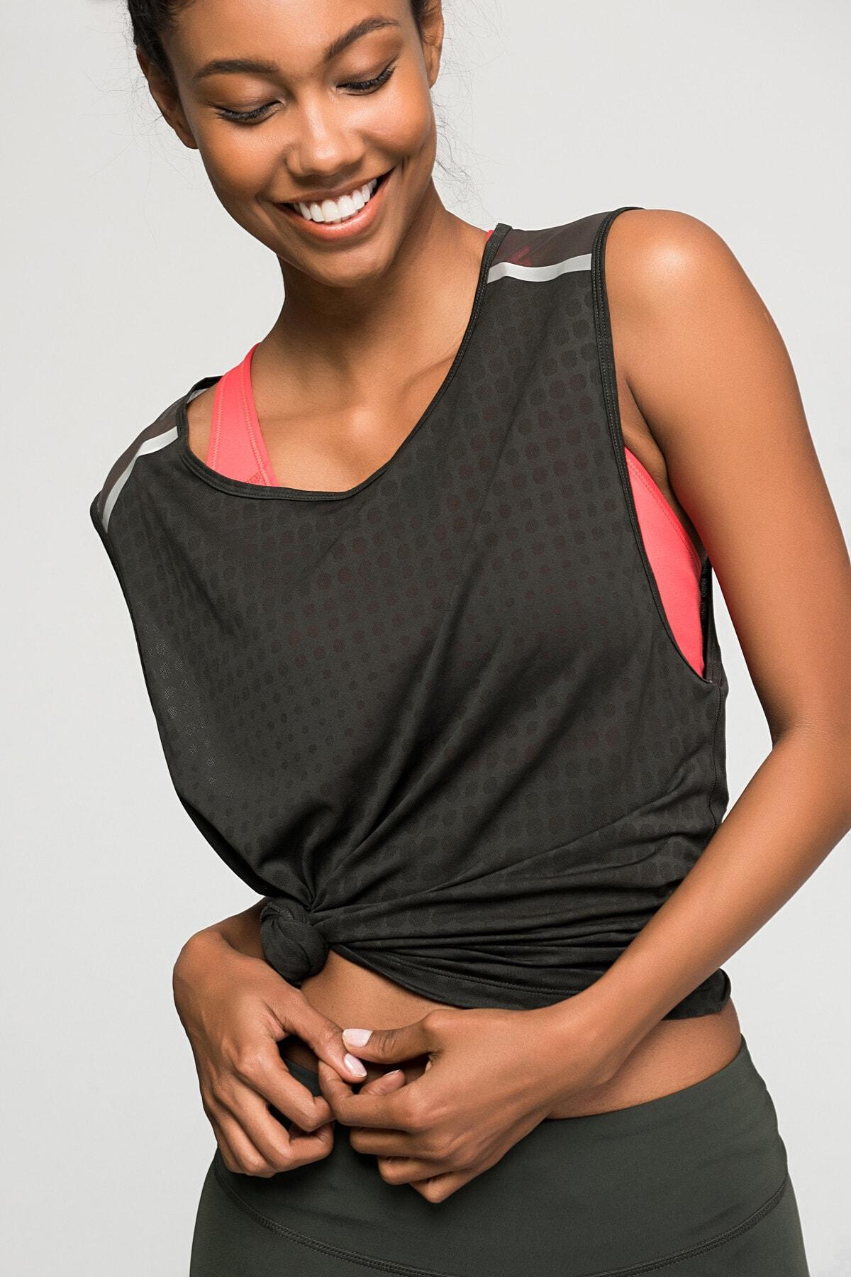 New Balance WT71209 Kadın Yeşil T-Shirt - WT71209-FCG 1
