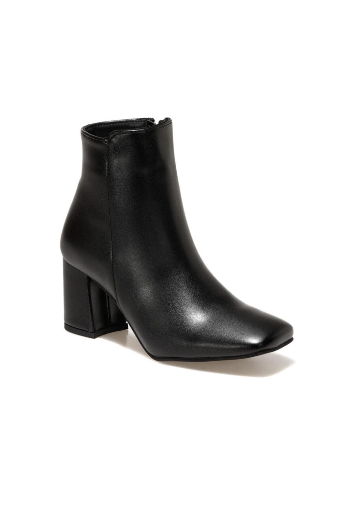 Butigo 20K-910 Siyah Kadın Topuklu Bot 100584632 2