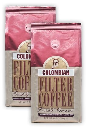 Mehmet Efendi Colombian Filtre Kahve Filter Coffee 250 gram 2 Adet